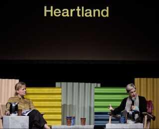 Judith Butler blev interviewet af Deadline-vært Lotte Folke Kaarsholm under sin talk på Heartland Festival.