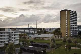 Vollsmose er ét af de områder, hvor der skal rives boligblokke ned som følge af aftalen. (Foto: Malte Kristiansen/Ritzau Scanpix)
