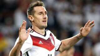 Miroslav Klose scorede i alt 71 mål i 137 landskampe.