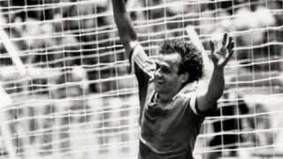 Michel Platini er sammen med Zinedine Zidane Frankrigs bedste spiller i historien.