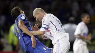 Zinedine Zidane blev officielt kåret til den bedste spiller ved VM i 2006.