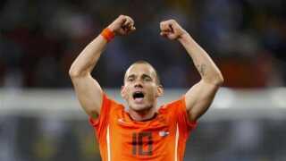 Wesley Sneijder kom ret skuffende ikke med til VM i Rusland.