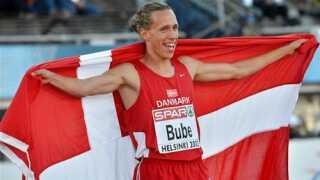 Andreas Bube efter EM-sølv i Helsinki - 2012