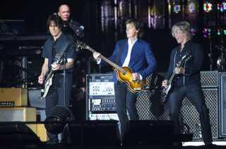 Paul McCartney på Orange.