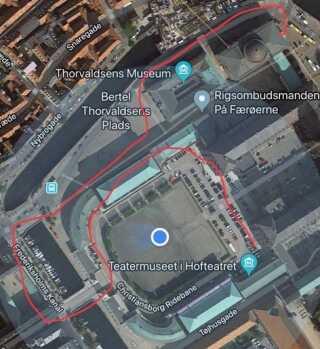 Illustration lavet med Google Maps.