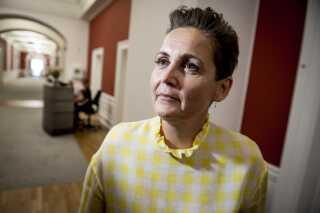 Pia Olsen Dyhr (SF) mener, at staten skal kunne tvinge landmændende til at sælge deres jord.