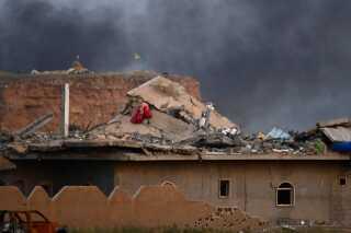 Kampe i Baghouz i Syrien har ødelagt store dele af den by, derifølge SDF nu er befriet fra Islamisk Stat.