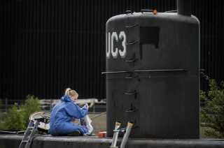 Peter Madsens ubåd UC3 Nautilus blev undersøgt af forskellige fagfolk, efter den blev bjærget i land tilbage i august 2017.