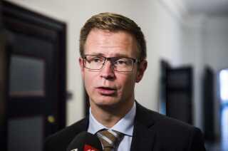 Benny Engelbrecht har også siddet som minister før i et lille år.