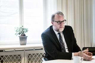 Energi-, forsynings- og klimaminister Lars Christian Lilleholt fra Venstre.