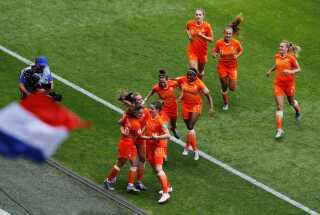 Holland vinder 1-0 over New Zealand ved VM