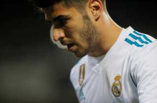 Real Madrids og Spaniens Marco Asensio
