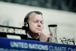 Under klimatopmødet i København i 2009 var statsminister Lars Løkke Rasmussen (V) en af dem, der stod i spidsen for forhandlingerne.