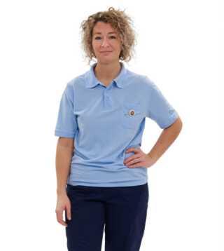 Den nye sygeplejerskeuniform, som Region Syddanmark indfører på alle regionens sygehuse.