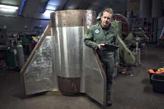 Peter Madsen byggede både raketter og ubåde.