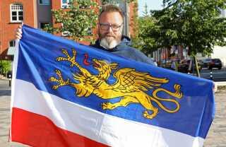 Claus Ruhe Madsen er Rostocks nye overborgmester. Han har boet i Tyskland i 26 år.
