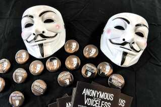 Bevægelsen Anonymous for the Voiceless kæmper for dyrs rettigheder, var repræsenteret i Calais på en festival, der var arrangeret af den franske veganerorganisation Farplace tidligere på måneden.