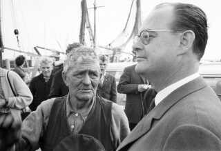 Viggo Kampmann var kendt som lidt af en supermand, da han var finansminister i 1950'erne.