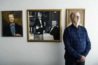 Larsen er en samler, og derfor har han nu et museum i hovedkvarteret i Braband.