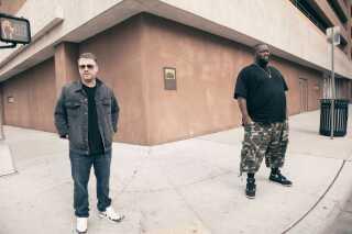 Hiphopduoen Run the Jewels består af El-P og Killer Mike.