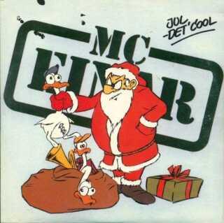Der var ikke mange til at producere 'Jul det' cool', og medlemmerne af gruppen tegnede selv coveret. Her er det Jan Kabrés kunstneriske egenskaber, der ses på det, der er det originale cover til 'Jul det' cool'.