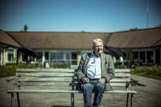 Karl Bligaard er uddannet ingeniør og var soldat i slutningen af 40'erne.