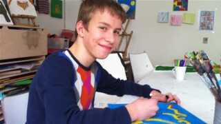 Zakarias, 12 år.