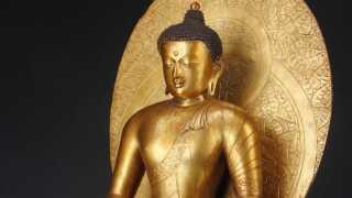 For nylig opnåede Lauritz.com deres højeste hammerslag nogensinde. Denne kinesisk Buddha fra 1700-tallet endte med et hammerslag på 13,6 millioner kroner.