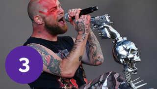 'Five Finger Death Punch'-forsanger Ivan L. Moody