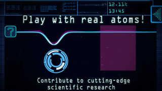 I spillet Quantum Moves skal spilleren flytte rundt på enkelte atomer i et simuleret forskningsforsøg.