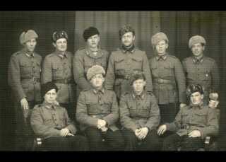 En gruppe danske frivillige fra Den Finske Vinterkrig (1939-1940)