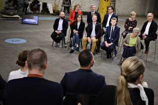 Spidskandidaterne til EP-valget var onsdag samlet til DR's afsluttende debat.