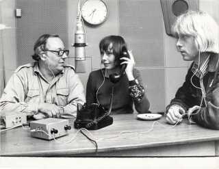 Trine Bryld var med til at starte radioprogrammet 'Tværs' i 1972, og var sad bag mikrofonen i i alt 36 år.