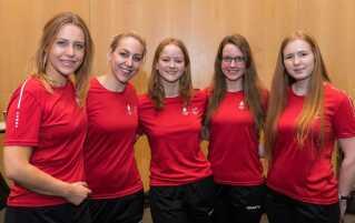 De danske curlingkvinder kvalificerede sig til OL mod alle odds. Foto: Lars Møller for DIF og Team Danmark