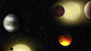 Forskere ved nu, at der er masser af exoplaneter derude, men hvordan de ser ud, må vi gætte os frem til. Det er alt for langt væk til, at vi kan se dem med nutidens teleskoper.