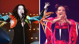 Dana International Netta Eurovision
