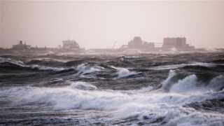Færgen aflyser fire afgange mandag | Bornholm | DR