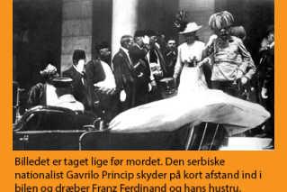 Mordet i Sarajevo | Historie | DR