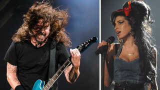 Amy og foo fighters