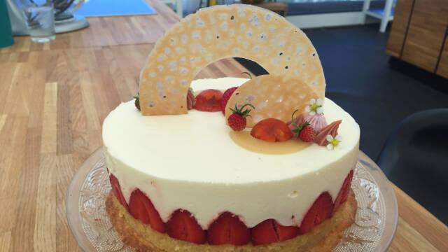 fraisier med jordbær