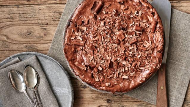 Billede af chokoladekagen Gateau Marcel
