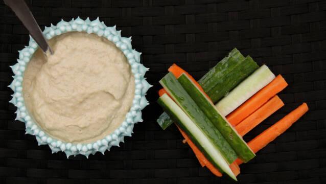 Hummus til madpakken