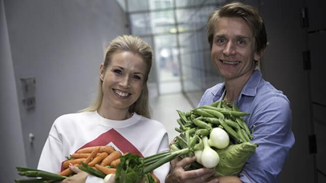 Tina Müller og Adam Aamann