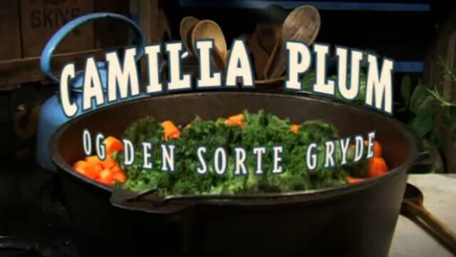 Camilla Plum og den sorte gryde logo