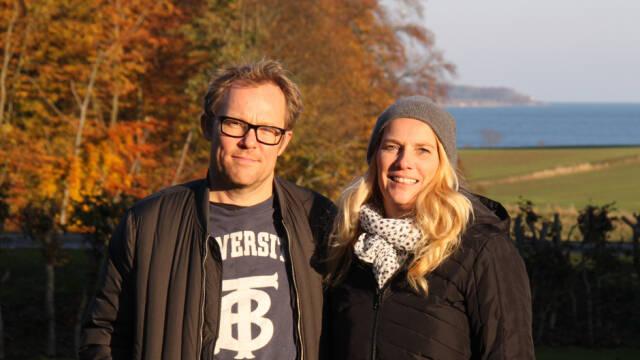 Kok Søren Ejlersen og vært Gitte Løkkegaard