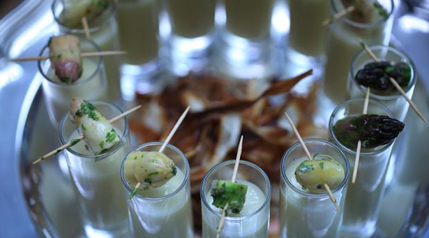 Billede af asparges vichyssoise