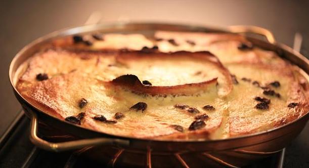 Billede af bread and butter pudding