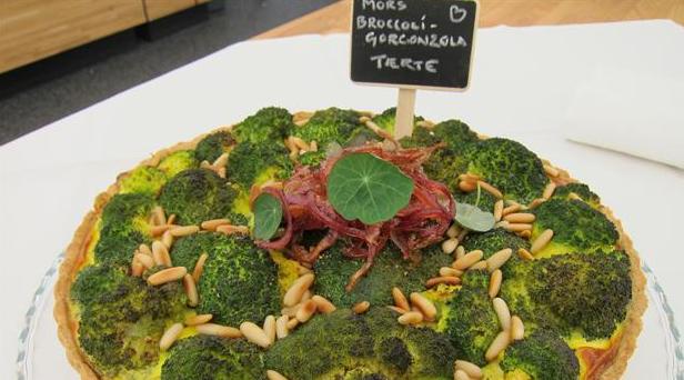 Billede af brocconzola tærte
