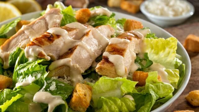 Billede af Ceasar salad