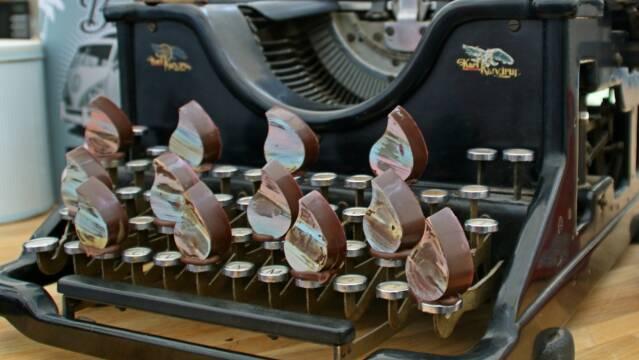 Fyldte chokolader på pind